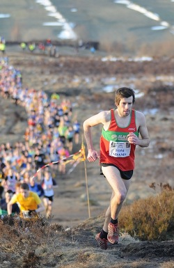 Tom taking the lead
